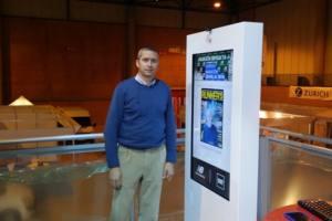 Interactuando en la Maraton de Sevilla