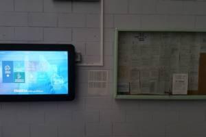 Interactuando tablón interactivo
